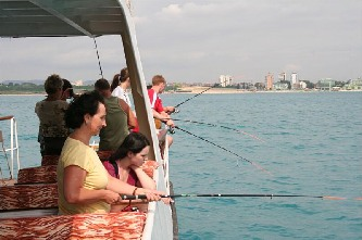Sea Fishing - early morning - Excursions in Bulgaria