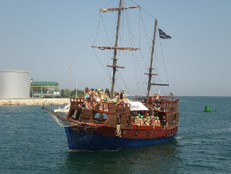 Pirate Party - Excursions in Bulgaria
