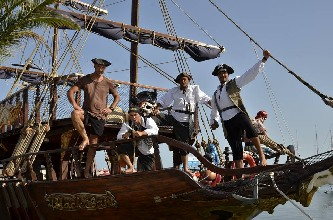 Pirate Ship Black Sam - Excursions in Bulgaria